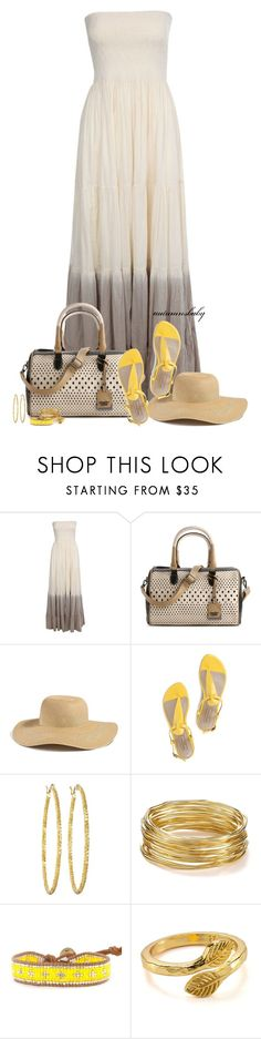 """""""Rain or Shine"""" by autumnsbaby ❤ liked on Polyvore featuring Jane Norman, Poverty Flats, GUESS, Mario Giordano, Brooks Brothers, R.J. Graziano and Gorjana"""
