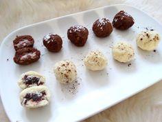 Domowy mus czekoladowy i pralinki