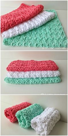 I have rounded up some of the best and interesting free  #Crochet #Dishcloth patterns for your home.Sedge Stitch Crochet Dishcloth Pattern