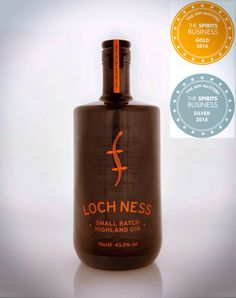 Loch Ness Gin - Real & Rare Gin, Shampoo, Spirit, Bottle, Drinks, Silver, Products, Drinking, Beverages