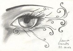 eye tattoo by blondyfreak on DeviantArt