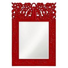 Howard Elliott Oakvale Mirror - 17W x 25H in. - 4084