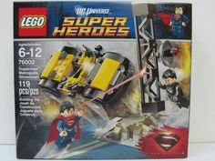 LEGO DC Universe Superman Metropolis Showdown! Model # 76002. 119 piece set. Ages 6-12 years. I want you to be confident in the decision you are making. | eBay!