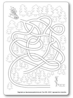 Labyrinthe Luge Mazes For Kids, Winter Activities For Kids, Kids Learning Activities, Luge, Pediatric Ot, Picture Puzzles, Winter Olympics, Kindergarten Worksheets, Winter Sports