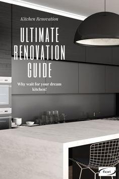 Modern Outdoor Kitchen, Modern Kitchen Design, Kitchen Layout, New Kitchen, Latest Kitchen Designs, Kitchens, Kitchen Appliances, Step Guide, Home Renovation
