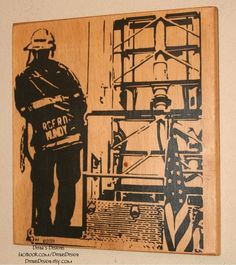 Bunker Gear Sign, Turnout Gear, Custom Wood Sign ...