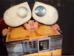 Cool Wall-E Costume for a Toddler Boy... Coolest Halloween Costume Contest