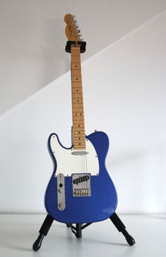 Left Handed American Fender Telecaster, Mystic Blue, Maple Neck 2013 model. | eBay