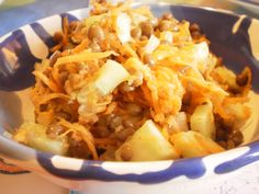 From Veggie to Vegan: Linsen-Gurken-Karottensalat