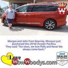 Morgan and John are fantastic royal loyal customers, congratulations on your sweet ride! 🎉 #Chrysler #ChryslerPacifica #Carshopping