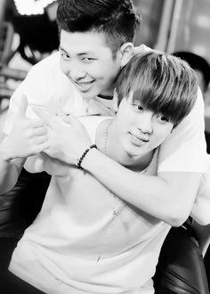 Rapmon & Jin / We Heart It