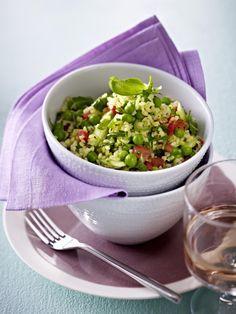 Unser beliebtes Rezept für Grünes Taboulé mit Erbsen und mehr als 55.000 weitere kostenlose Rezepte auf LECKER.de.