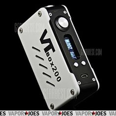 VTBox200 is powered by authentic DNA 200 chip by EVOLV. DNA 200 is a power regulated DC-DC converter with digital switch-mode for personal vaporizers. It features Evolv' s patented wattage control, temperature Protection, preheat, OLED screen, and waterproof onboard buttons. The DNA 200 runs from 3 cell lithium polymer battery, and features cell-by-cell battery monitoring and integrated 1A balance charger. It is the most advanced personal vaporizer.