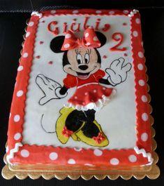 Il pennello di cioccolato: Torta Minnie
