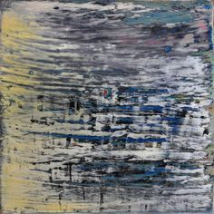 Abstract painting by Jakob Weissberg, 2013, oil on wood panel