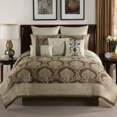 Alexa 9-Piece Reversible Comforter Set - BedBathandBeyond.com 149.99