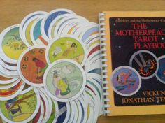 Motherpeace round Tarot deck and workbook.