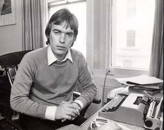 Credit: Martin Lawrence / Daily Mail Martin Amis in 1981.