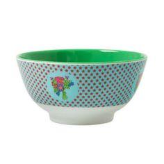 RICE Bowl, Melamine Stars Blue Bowl - $18.95