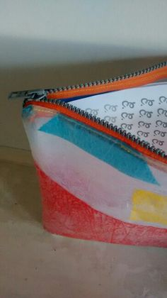 A4  plastic pouch Fused Plastic, Recycled Plastic Bags, Plastic Pouch, A4, Upcycle, Recycling, Life, Ideas, Plastic Bags
