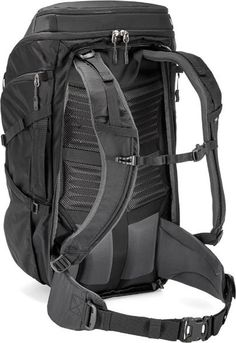 5ab72266736f Back view (Black) REI Co-op Ruckpack 40 Bags