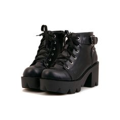 Shop Black Chunky Heel Lace Up Ankle Boots online. - Shop Black Chunky Heel Lace Up Ankle Boots online. SheIn offers Black Chunky Heel Lace Up Ankle Boots & more to fit your fashionable needs. Source by lenchenmann - Dream Shoes, Crazy Shoes, Lace Up Ankle Boots, Shoe Boots, Platform Ankle Boots, Ankle Booties, Black Chunky Heels, Chunky Boots, Goth Shoes