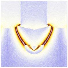 Necklace (Collier) - Art Abstrait Contemporain