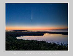Comet Neowise & Europe Lake 7-13-20 Door County - Daniel Anderson Door County, Europe, Celestial, Mountains, Sunset, Beach, Water, Travel, Outdoor