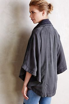 Quilted Cape by Hei Hei