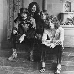 John Bonham, Jimmy Page, John Paul Jones, and Robert Plant