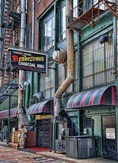 Rendezvous original ribs Memphis Tennessee