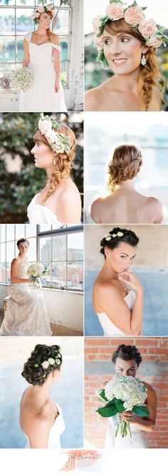 Light and Airy Bridal Beauty Styled Shoot with hair & makeup by Samantha Landis. Photos by Jeff Brummett Visuals. #wedding #beauty #hair #makeup #bridal