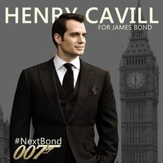 Henry Cavill for James Bond by urielwelsh