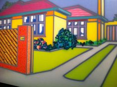 Howard Arkley at Magnum Opus, Howard Arkley, Musica Punk, Melbourne, Landscape Paintings, Landscapes, Cityscape Art, First Art, Australian Artists