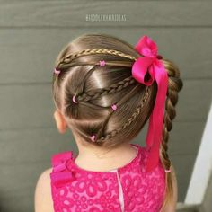 Latest easy hairstyles for school. Baby Girl Hairstyles, Up Hairstyles, Braided Hairstyles, Easy Hairstyles For School, Cute Hairstyles For Short Hair, Kids Hairstyle, Short Haircuts, Black Hairstyle, Long Hairstyle