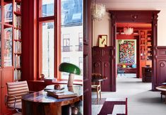 The most beautiful colored walls Best Interior, Home Interior Design, Residential Architecture, Interior Architecture, Wall Colors, House Colors, Scandinavian Living, Bruges, Dream Bedroom
