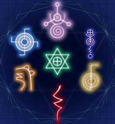 Reiki - The 7 Reiki Symbols Amazing Secret Discovered by Middle-Aged Construction Worker Releases Healing Energy Through The Palm of His Hands. Cures Diseases and Ailments Just By Touching Them. And Even Heals People Over Vast Distances. Reiki Meditation, Simbolos Do Reiki, Usui Reiki, Reiki Healer, Meditation Music, Learn Reiki, Was Ist Reiki, Les Chakras, Yoga Inspiration