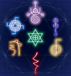 The 7 Reiki Symbols