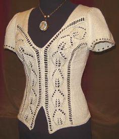 White Lies Designs Alyce Tee Knitting Pattern
