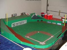 This would be sweet to play baseball on at parties Beer Games, Brew Your Own, Homemade Beer, Beer Pong Tables, Sport Of Kings, Baseball Party, Recreational Activities, Fenway Park, How To Make Beer