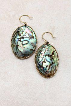 14K Fia Abalone Earrings   Emma Stine Jewelry Earrings
