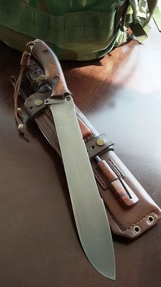Daily Man Up Photos) - whiskey weapon truck rifle pistol outdoors off-road motorcycle men masculine manly man up man stuff man knife jeep hot rod harley gun car camping bike beer alcohol Cool Knives, Knives And Tools, Knives And Swords, Katana, Tactical Knives, Tactical Gear, Survival Knife, Survival Gear, La Forge