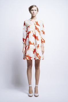 Luna Dress Cosmo Print - Karen Walker - The Happy Emporium Wordpress Theme Design, Sarah Jessica Parker, Karen Walker, Olivia Palermo, Lauren Conrad, Stars, Sewing, City, Clothes