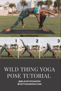 Learn how to do wild thing yoga pose with this step-by-step tutorial. #yoga #yogainspiration #yogatutorials #yogateacher #yogaposes Benefits Of Physical Fitness, Yoga Fitness, Fitness Tips, Yoga Mom, Relaxing Yoga, Take Care Of Your Body, Fit Board Workouts, Yoga Poses For Beginners, Brown Girl