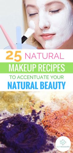 25 Natural Makeup Recipes to Accentuate Your Natural Beaut - Top Of The World Natural Summer Makeup, Natural Makeup Looks, Natural Beauty Tips, Simple Makeup, Beauty Routine Checklist, Beauty Routines, Homemade Skin Care, Homemade Beauty Products, Facial Products