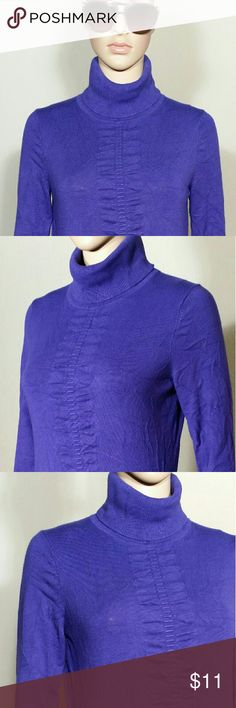 Express Womens Purple Turtle Neck Sweater Size S SMALL - 80% Rayon 17% Nylon 3% Spandex In Very good condition!! Very adorable!! Fast shipping!! Express Sweaters Cowl & Turtlenecks