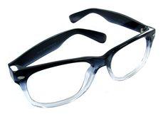 Nerd dark rimmed glasses