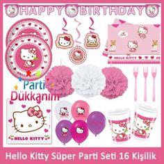Hello Kitty Süper Parti Seti (16 Kişilik)