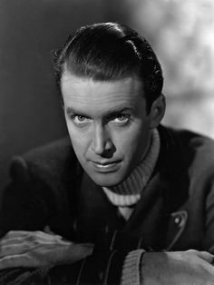 James Stewart with an intense expression. I like it.
