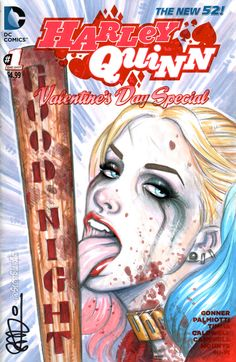Suicide Squad Harley Quinn Good Night by scottblairart.deviantart.com on @DeviantArt
